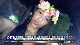 Police: woman killed helping friend escape domestic violence