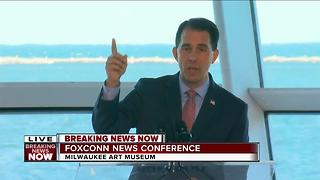Gov. Walker: Foxconn to put Wisconsin on global map - Video