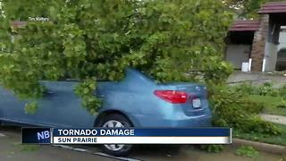 Tornado touches down on east side of Madison, Sun Prairie - Video