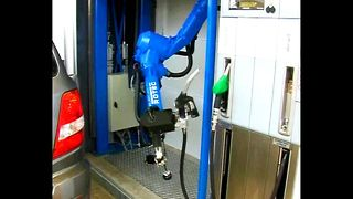Robot Gas Pump - Video