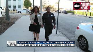 Accused Seminole Heights killer's parents' case will move to criminal court - Video