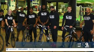 Cyclists riding to Cleveland to raise gun violence awareness