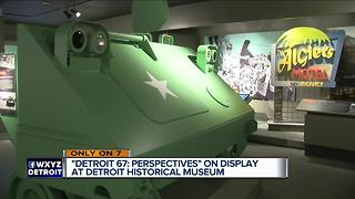 'Detroit 67: Perspectives' on display at Detroit Historical Museum - Video