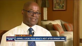 Lucas talks what's next after Milwaukee Sheriff primary win - Video