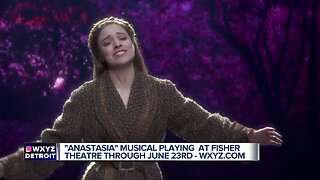 'Anastasia' musical playing at Fisher Theatre through June 23