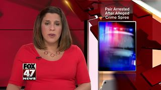 Police make arrests in 3-county crime spree - Video