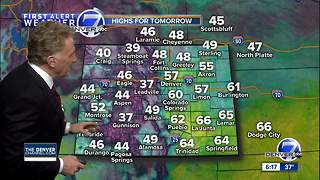 Denver will be warmer on Thursday - Video