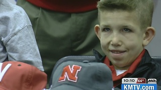 Huskers to honor boy battling terminal illness - Video