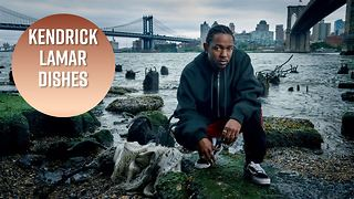 Kendrick Lamar talks Trump, Taylor Swift and Beyonce - Video
