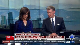 Douglas County coroner confirms death of 18-year-old student in STEM School Highlands Ranch shooting