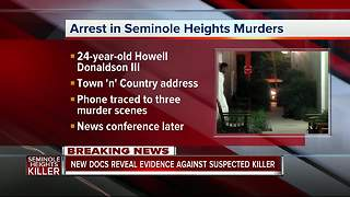 Suspected Seminole Heights Killer Arrested | New documents reveal evidence against Howell