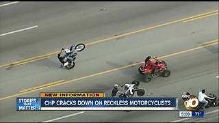CHP cracks down on motorcyclists
