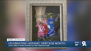 Jewelry maker honors her Hispanic culture with each piece