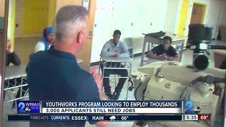 YouthWorks program looking to employ thousands - Video