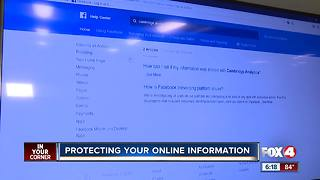 Protecting your online information - Video