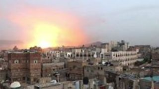 Explosions Rock Sanaa Day After Houthi Missile Shot Down Over Saudi Arabia - Video