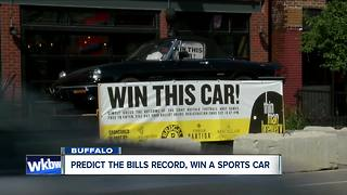 Buffalo brewery offering car as prize for Bills picks - Video