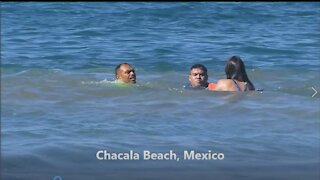 Chacala Beach Bay Watch Rescue!