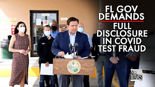 Florida Governor Demands Full Disclosure in Covid Test Fraud