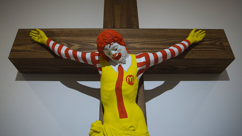 Haifa Museum's 'McJesus' Sculpture Sparks Controversy in Israel