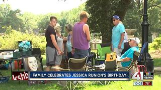 Loved ones celebrate Jessica Runions' 22nd birthday - Video