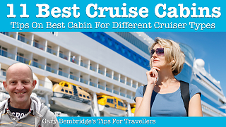 Best cruise ship cabins for 11 different traveler types - Video