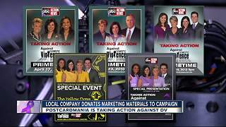 Local company donates marketing materials to campaign - Video