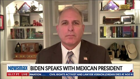 FMR. CBP HEAD TO NEWSMAX TV: THERE IS 'A CRISIS' HAPPENING ALONG OUR SOUTHERN BORDER