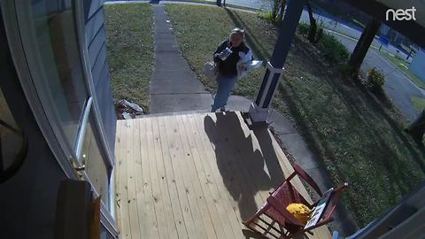 Woman caught stealing from mailbox in Irvington