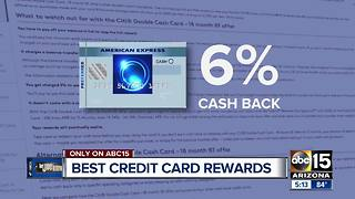 The best credit card rewards programs right now - Video
