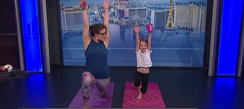 Preview: Mommy and Me Yoga Experience