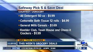Grocery deals - Video