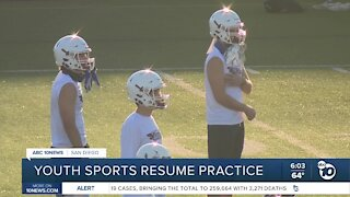 Youth Sports Resume Practice