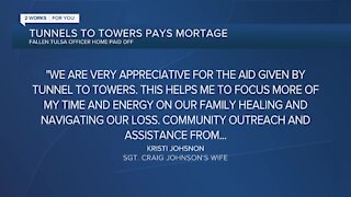 Tunnels to Towers Pays Off Mortgage