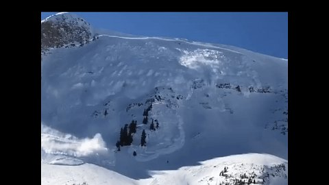 Avalanche Triggered to Protect Teams Recovering Body on Utah Mountain