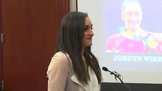 Olympic gold medalist Jordyn Wieber speaks at Nassar sentencing - Video