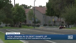 Gilbert HOA drama continues with lawsuits, battle for board seats
