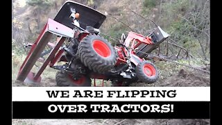 Flipping Over Tractors