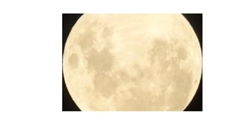 Video Shows Close-Up of Supermoon Surface Over Tamworth Sky - Video