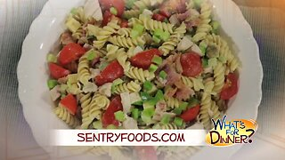 What's for Dinner? - Chicken Club Pasta Salad