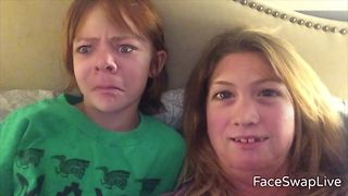 """Mother Daughter Hilarious Face Swap"""