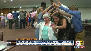 St. Henry students host prom for senior citizens