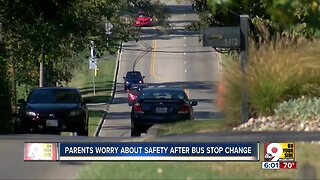 Parents worry about students' safety after bus stop change