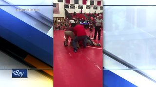 Parents cited after fight at youth wrestling match
