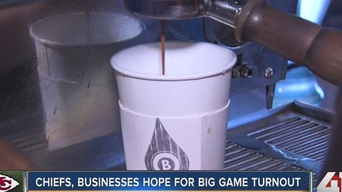 Chiefs, businesses hope for big game turnout