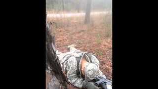 Drill Sargent Discovers Sleeping Solider - Video