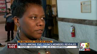 Council texts: City manager needs counseling - Video