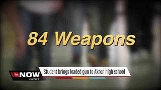 Student brings gun to Akron school - Video