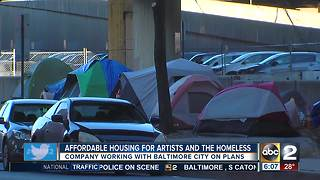 City hoping to bring affordable housing to artists, homeless - Video