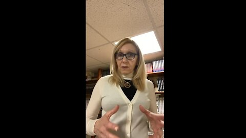Mrs. Monica Corsi Discusses Plans for the Future: 01-18-21